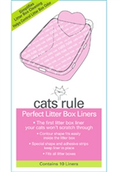 Perfect Litter Liners - Oversized for Priscilla's Open Pan (Pack of 10)