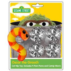 Sesame Street Cat Toy Package - Free Shipping