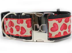Humble Hearts Extra Wide Dog Collar