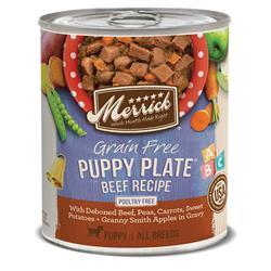 MERRICK DOG CLASSIC PUPPY PLATES 12.7OZ (Case of 12)