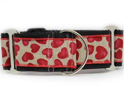 Humble Hearts Extra Wide Martingale Dog Collar