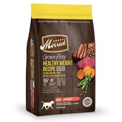 Merrick Grain Free Healthy Weight Recipe
