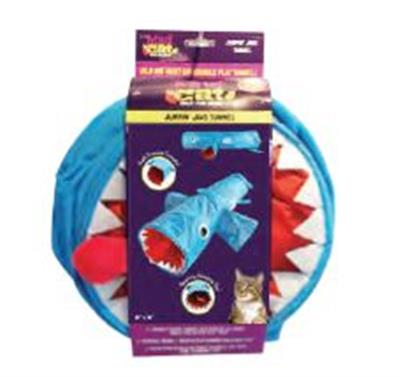 "Mad Cat® JAWS SHARK 38"" CAT TUNNEL 2 Pack $20.60 ($10.30 EA)"