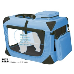 Extra Small Deluxe Soft Crate, Generation II - Ocean Blue
