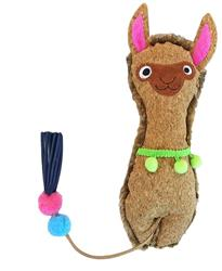 Crafty Cat by Mad Cat LLAMA-O-RAMA KICKER CAT TOY w/ Catnip & Silvervine -  4 Pack $14.00 ($3.50 EA)