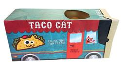 Mad Cat TACO TRUCK CRINKLE BAG CAT TOY!!!!!!!! 4 Pack $26.00 ($6.50 EA)