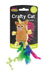 Crafty Cat by Mad Cat PRANCING POM UNICORN CAT TOY Contains Catnip & Silvervine -  4 Pack $14.44 ($3.61 EA)