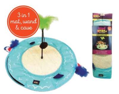 "Mad Cat® DESERT ISLAND 20"" PLAY MAT 4 Pack $60.00 ($15.00 EA)"