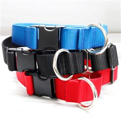 1.5 Inch Wide Martingale Dog Collar for Big Dogs + Greyhounds