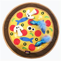 "Mad Cat® PIZZA PURRTY 18"" PLAY MAT 4 Pack $51.52 ($12.88 EA)"