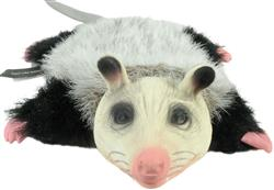 Hyper Pet™ REAL SKINZ OPOSSUM PLUSH & LATEX STUFFLESS DOG TOY WITH SQUEAKER CASE OF 12 $95.88 ($7.99 EA)