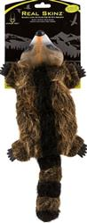 Hyper Pet™ REAL SKINZ RACCOON PLUSH & LATEX STUFFLESS DOG TOY WITH SQUEAKER CASE OF 12 $95.88 ($7.99 EA) - COPY