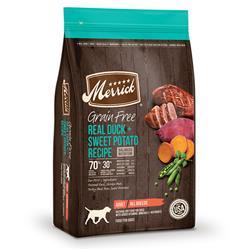 Merrick Grain Free Real Duck and Sweet Potato Recipe