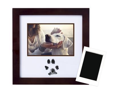 Pawprints Ink Frame, Espresso