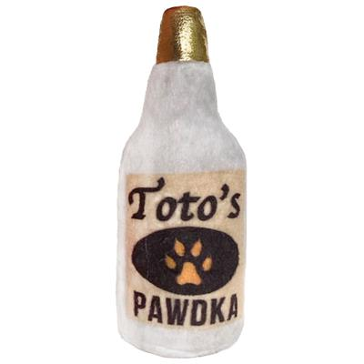 "4"" Toto's Pawdka Plush Booze Cat Toy by Kittybelles"