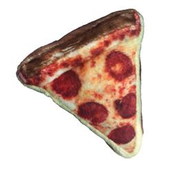 "3.5"" Pizza Plush Cat Toy by Kittybelles"