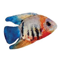 """3.5"""" Angelfish Plush Fish Cat Toy by Kittybelles"""