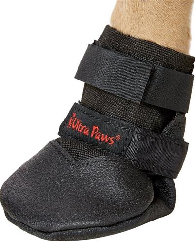 ULTRA PAWS BLACK RUGGED BOOTS S, M, L, XL
