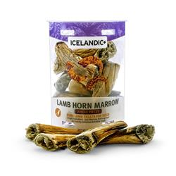 100% Pure Lamb Horn Marrow Whole Pieces by Icelandic+