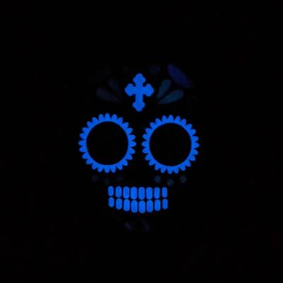 Glow-in-the-Dark Skull Bandana