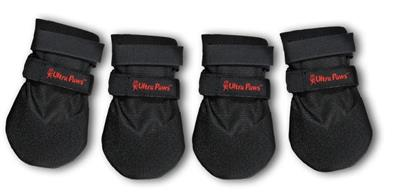 ULTRA PAWS DURABLE BOOTS BLACK; OUR BEST SELLER! AVAILABLE IN 6 SIZES!