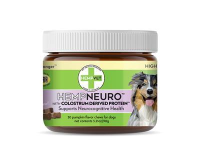 HEMPNEURO with CBD + Colostrum Derived Protein™ (30 chews/jar)