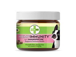 HEMPIMMUNITY with CBD + Immunopeptide™ (30 chews/jar)