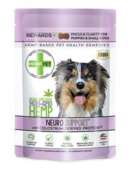 NEURO SUPPORT REWARDS+ with CBD, Colostrum Derived Protein™ (30 chews/bag)