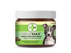 HEMPMAX High Potency CBD Hemp Complex (30 chews/jar)