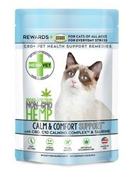 CALM SUPPORT for Cats with C10 Colostrum & Taurine (30 chews/bag)