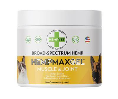 HEMPMAX GEL CBD+ Muscle & Joint (4oz. Jar)