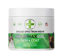 HEMPMAX GEL CBD+ Skin & Coat (4oz. Jar)