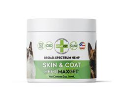 HEMPMAX GEL CBD+ Skin & Coat (2oz. Jar)