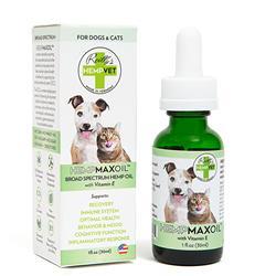 HEMPMAXOIL™ with 125mg CBD + Vitamin E, 1 fl. oz. Bottles