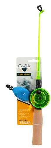 OUR PET'S FISHING ROD WAND WITH FISH CAT TOY 6 PACK $39.12 ($6.52 EA)