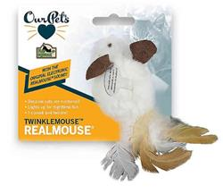 OUR PET'S SPECIALTY LIGHT UP MOUSE - TWINKLE MOUSE 6 PACK $25.50 ($4.25 EA)