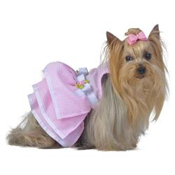 Pink Glitter Tutu Dress