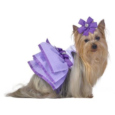 Purple Glitter Tutu Dress