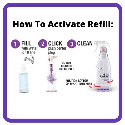 Ion Fusion Severe Urine & Odor Destroyer   Advanced ION Formula - Faster More Effective Cleaning