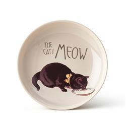 Pet Derby Cat Saucer,  Natural, 2.5 oz