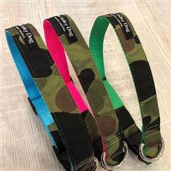 Neon Camo Collars & Leashes