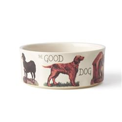 Pet Derby Dog Bowl,  Natural, 3.5 cups