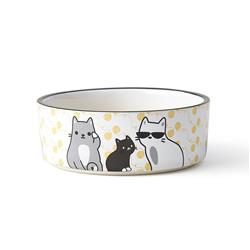 Tangled Kitty Bowl, 2 cups