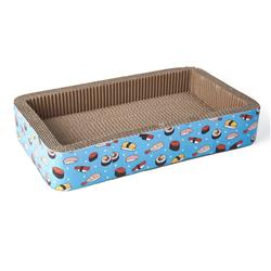 Sushi Time Cat Scratcher, Blue