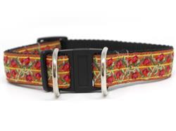 Bombay Dog Collar-Safety Buckle