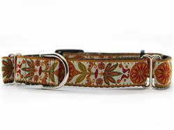 Venice Ivory Medium Width Martingale Dog Collar