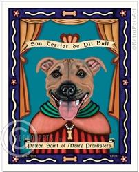 San Canine de Pit Bull - Brown