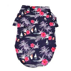 Hawaiian Camp Shirt - Moonlight Sails