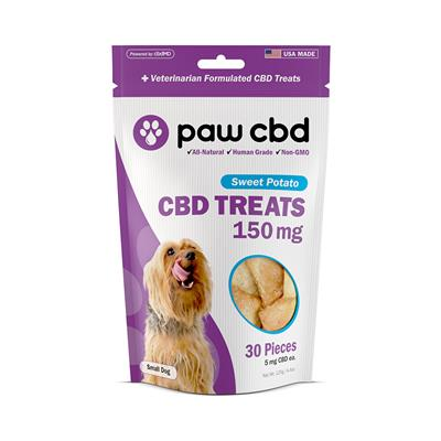 Paw CBD Dog Treats, Sweet Potato - 30 Count