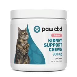 Paw CBD Kidney Support Soft Chews for Cats, Salmon - 150 Count